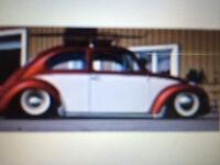 vw beetle 1958 AUTHENTIQUE