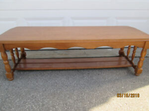 Mennonite Made Solid Maple Coffee Table