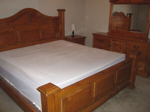 7 Piece King Size Bedroom Suite