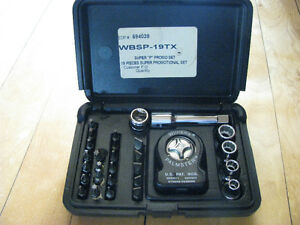 Williams Super Palmster Kit # WBSP-19TX / 29 Pcs , 3/8 Dr.
