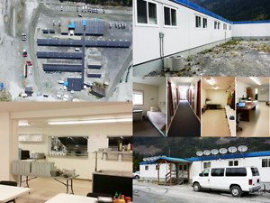COMPLETE 123 Man Camp Available -Dorms Office Kitchen- REDUCED
