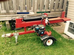 Trade wood splitter for a outboard motor or oyster dory