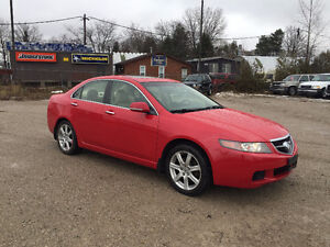 2004 ACURA TSX ★ LOW KM ★ LEATHER ★ HEATED SEATS ★ PENDING SALE London Ontario image 3