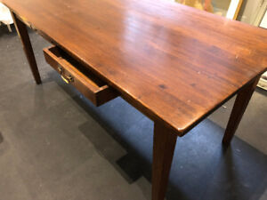 Horse Feathers Home Solid Walnut Dining Table