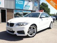 2014 BMW 220 2.0TD 190bhp ( s/s ) 2014MY d M Sport AUTOMATIC DIESEL £30 ROAD TAX