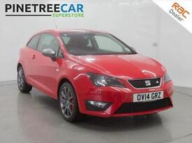 2014 SEAT IBIZA 1.4 TSI ACT FR Edition SportCoupe 3dr