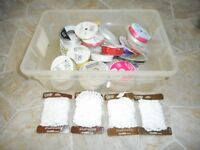 Large lot of crafting supplies