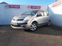 2006 56 NISSAN NOTE 1.6 16V SE AUTOMATIC.LOWMILEAGE.12 MONTHS MOT.ANY PX WELCOME