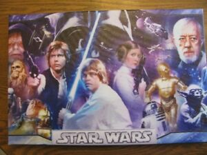 CANVAS POSTER  -  STAR  WARS  -  NEW HOPE