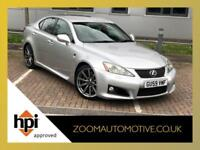2009 LEXUS IS F 5.0 V8 AUTO SALOON SILVER