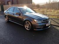 2012 Mercedes-Benz C Class 6.3 C63 AMG MCT 7S 4dr