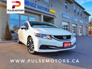 2015 Honda Civic EX Loaded | One Owner |Certified Accident-FREE
