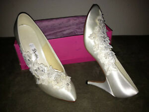 Wedding; Bridal Shoes; 8 1/2