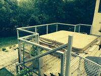 Glass Deck Railing 6MM