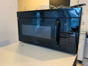 Appliance package flat top range dishwasher over range microwave
