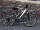 CARRERA CROSSFIRE ONE.  FULLY WORKING ADULT BIKE NO RUSTY FREE DELIVER