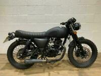 Mutt Mongrel 125 2017 LOW MILEAGE READY TO RIDE NEW MOT BOBBER CAFE RACER 125CC
