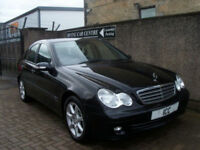 06 06 MERCEDES C180K CLASSIC SE 1.8 AUTO 4DR LOW MILEAGE BLUETOOTH ALLOYS