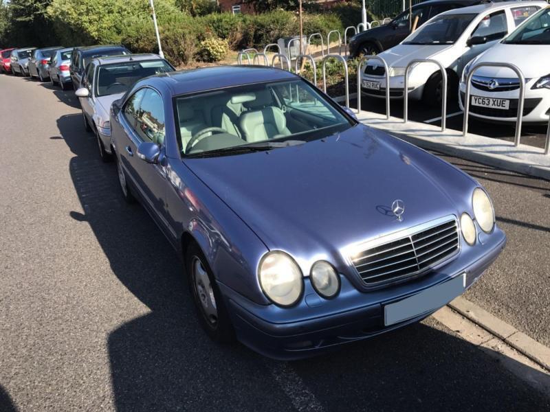 Mercedes-Benz CLK Clk230 Kompressor Elegance PETROL AUTOMATIC 2000/X