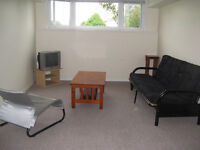 Spacious, bright basement apartment (utilities included)