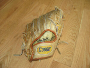 Cooper Black Diamond 240 LH Baseball Glove, good condition 12""