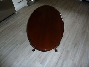 Gibbard Solid Cherry Coffee Table OVAL