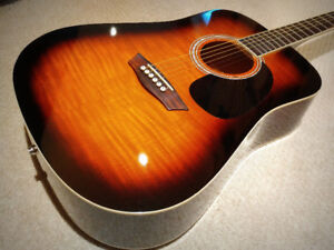 Washburn Acoustic Electric Guitar - $185