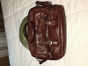 Samsonite leather tote