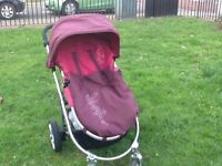 Pushchair - Mamas and Papas Rubix with rain cover + Footmuff in excellent and clean condition