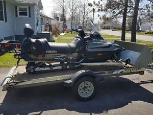 2003 Yamaha Ski-doo and Trailer for sale