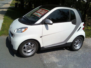 2009 Smart Car fortwo Passion white Coupe (2 door)