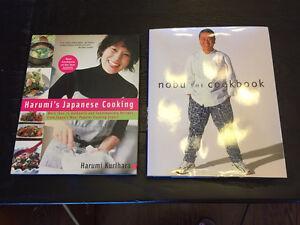 Japanese cook books $10