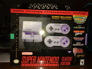 Brand New SNES Classic