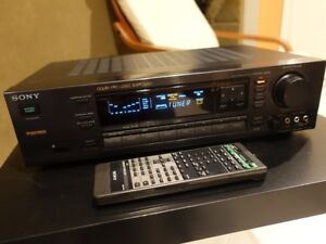SONY TA-E741 Preamplifier with Original Remote Controller