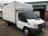 2012 61 FORD TRANSIT 2.4 TDCI 350 EXTRA LONG DRW 115 BHP LUTON 500KG TAIL LIFT