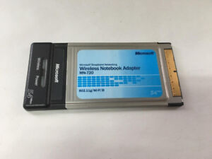 USED MICROSOFT WIRELESS NOTEBOOK ADAPTER MN-720