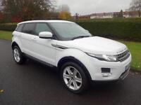 Land Rover Range Rover Evoque 2.2 SD4 Pure Tech - 5dr - AUTOMATIC - WHITE