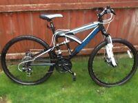 Barracuda Pheonix full suspension mountain bike