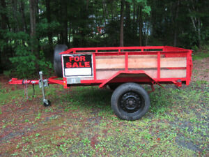 New Home Made 6 1/2ft trailer single axle