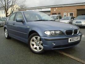 2003 03 BMW 3 SERIES 2.5 325I SE 4D AUTO 190 BHP