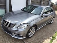 MERCEDES BENZ E220 CDI AMG SPORT SALVAGE UNRECORDED MINOR REPAIR