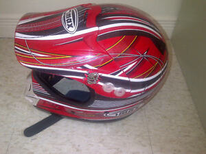 Gmax Motocross Helmet (Red) $40