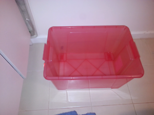 Two 52 l storage boxes - no lid Maylands Bayswater Area Preview