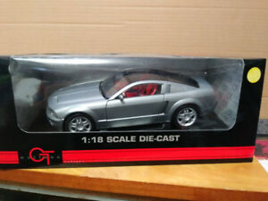 1965 Ford Mustang diecast car in 1/18 scale