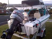 Bertram Caribbean 1/2Cab 15ft 6' NEW Trailer 75 Mariner MUST SEE Midway Point Sorell Area Preview