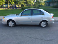 Hyundai accent 2005 , automatique , bas millage  79000km , mécan