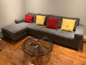 Couch, Reclining Chair, Coffee Table, TV stand