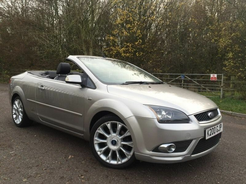 Ford foucs cc3 fully loaded leather satnav