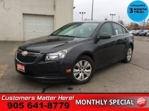 2014 Chevrolet Cruze 1LT  BLUETOOTH STEERING WHEEL AUDIO CLIMATE