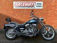 HARLEY-DAVIDSON DYNA FXDWG WIDE GLIDE 2002 51 REG 43,515 MILES USED MOTORCYCLE